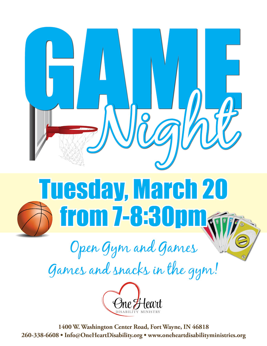 Game Night March 2018